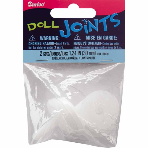 Darice Doll Joints, 2pk
