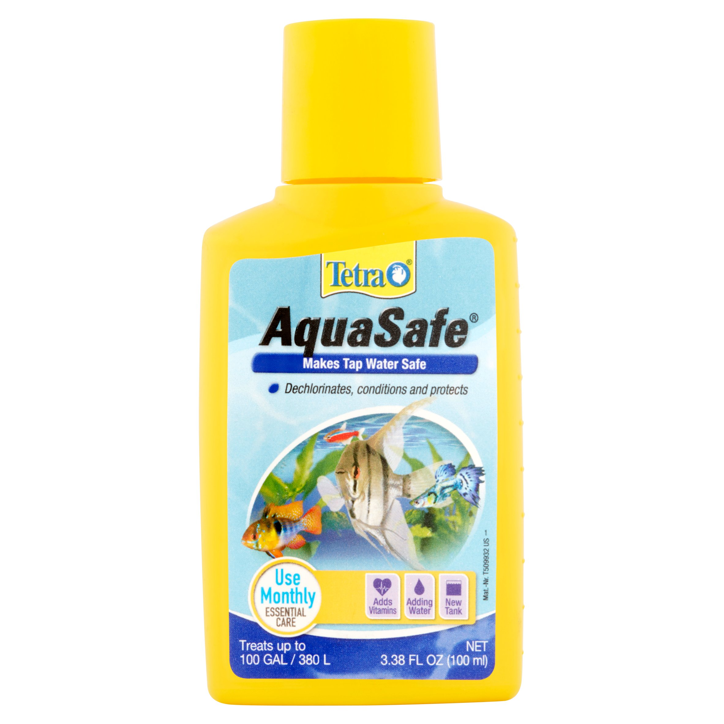 Tetra Aquasafe Aquarium Water Treatment 3.38 oz