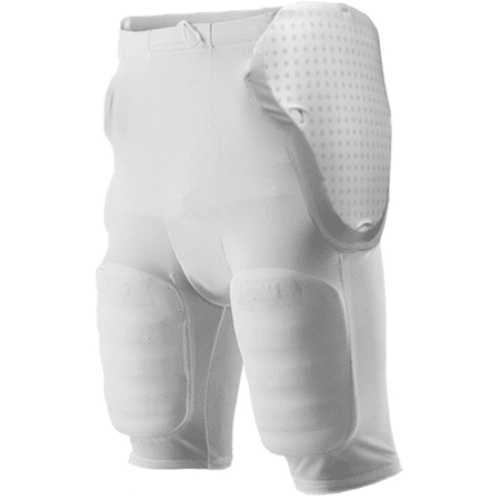Knit Football Hand Pad - Alleson Youth 5-Pad Integrated Football Girdle