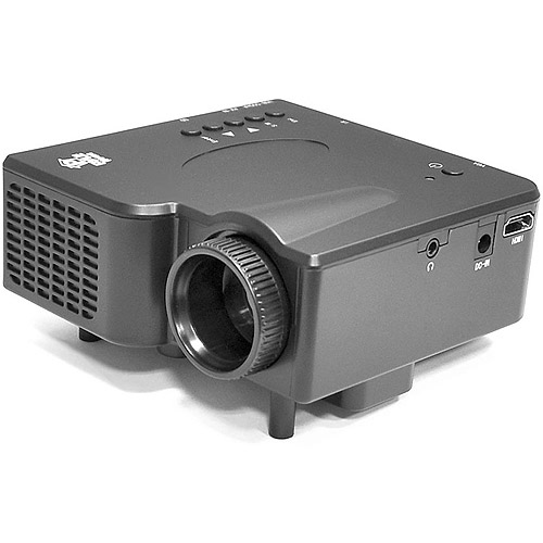 Pyle-Home Multimedia Home Theater Mini Projector with HDMI, AV, VGA Inputs, SD Memory Card and USB Flash Readers