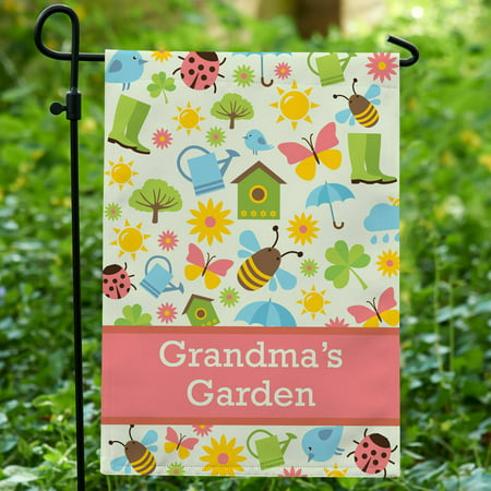 Personalized Spring Things Garden Flag - Personalized Garden Flags