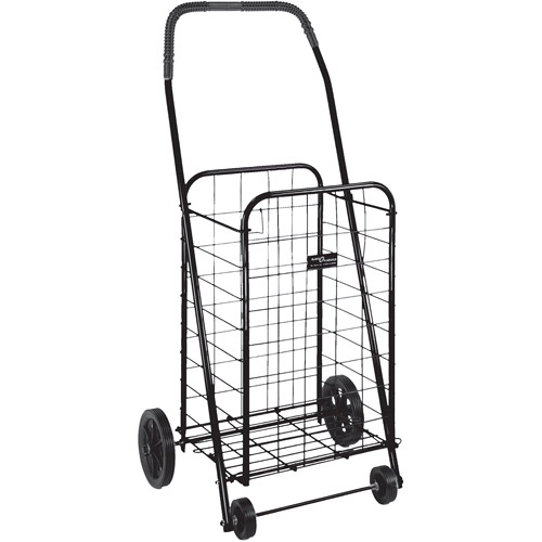 Folding Shopping Cart, Black