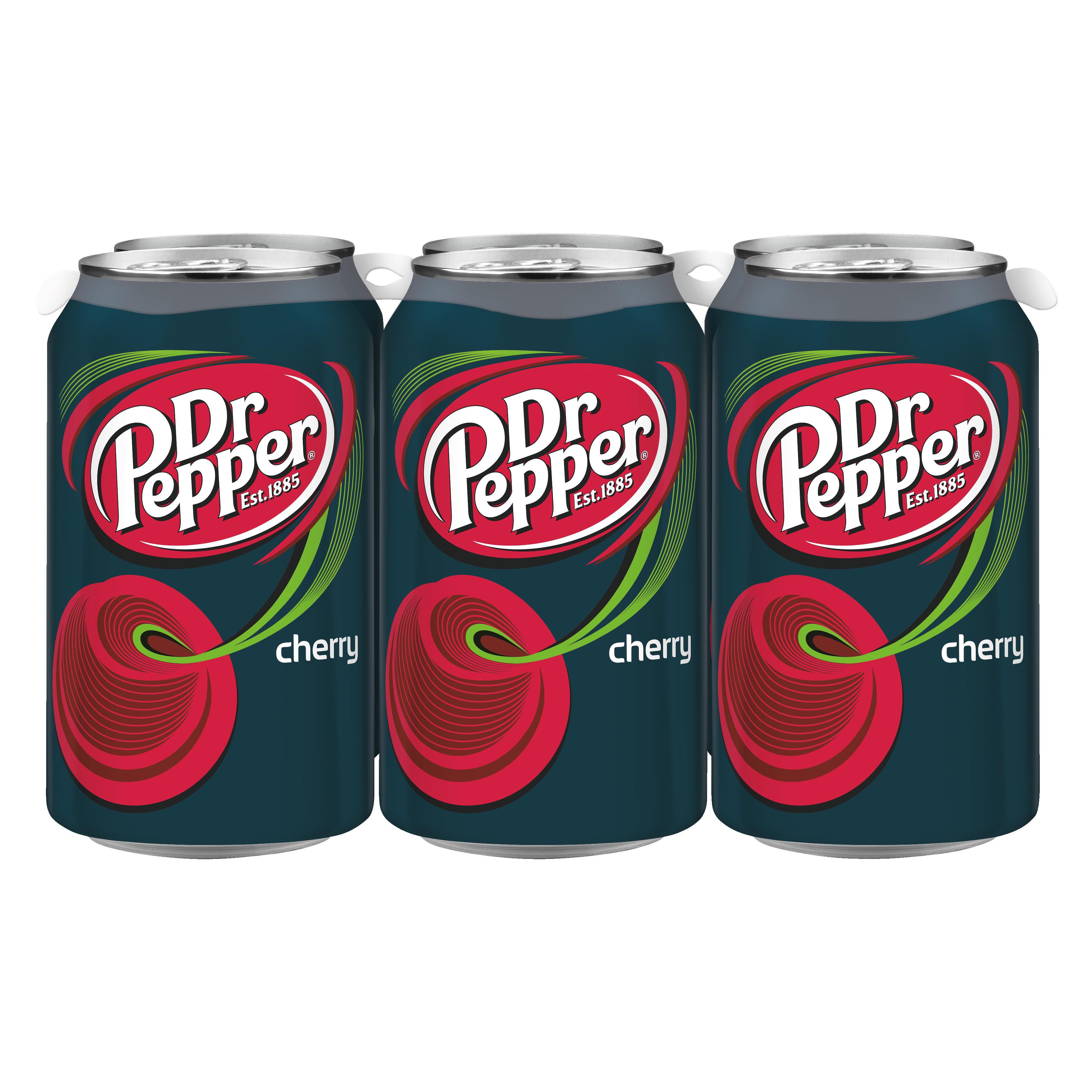 Dr Pepper Cherry, 12 fl oz, 6 pack