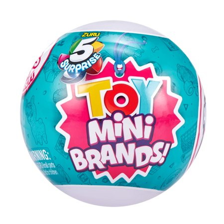 5 Surprise Toy Mini Brands! Surprise Ball - Series 1