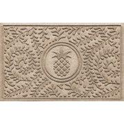 Bungalow Flooring Aqua Shield Boxwood Pineapple Doormat