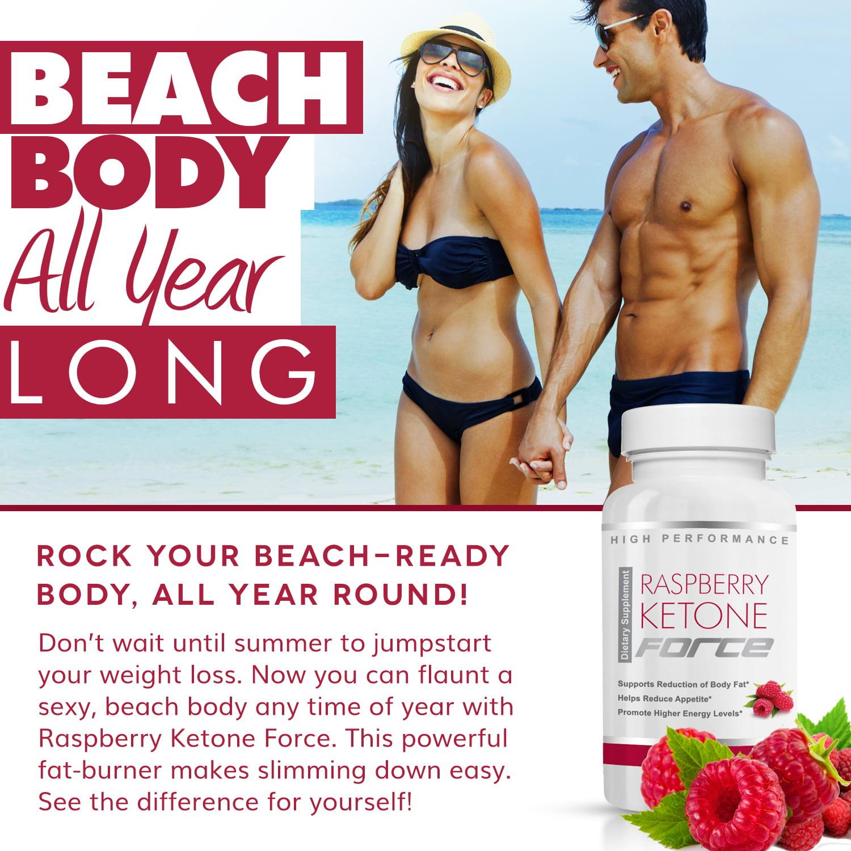 Raspberry Ketone Force Natural Weight Loss Pills Burn Fat