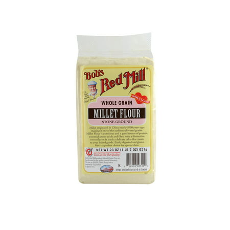 Bob's Red Mill Flour Whole Grain Millet, 23 Ounce