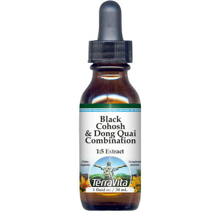 Black Cohosh & Dong Quai Combination Glycerite Liquid Extract (1:5) - No Flavor (1 oz, ZIN: 522122)
