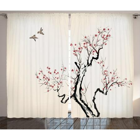 Asian Decor Curtains Curtain Menzilperde Net