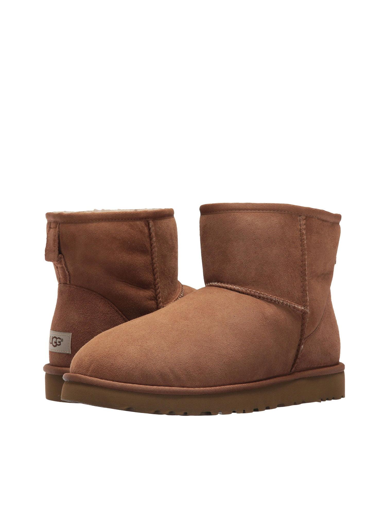 0fcbfc2b6ca UGG 1002072-CHE: Classic Mini MEN Boots CHESTNUT