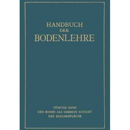Der Boden ALS Oberste Schicht Der Erdoberflache (1930) - image 1 de 1