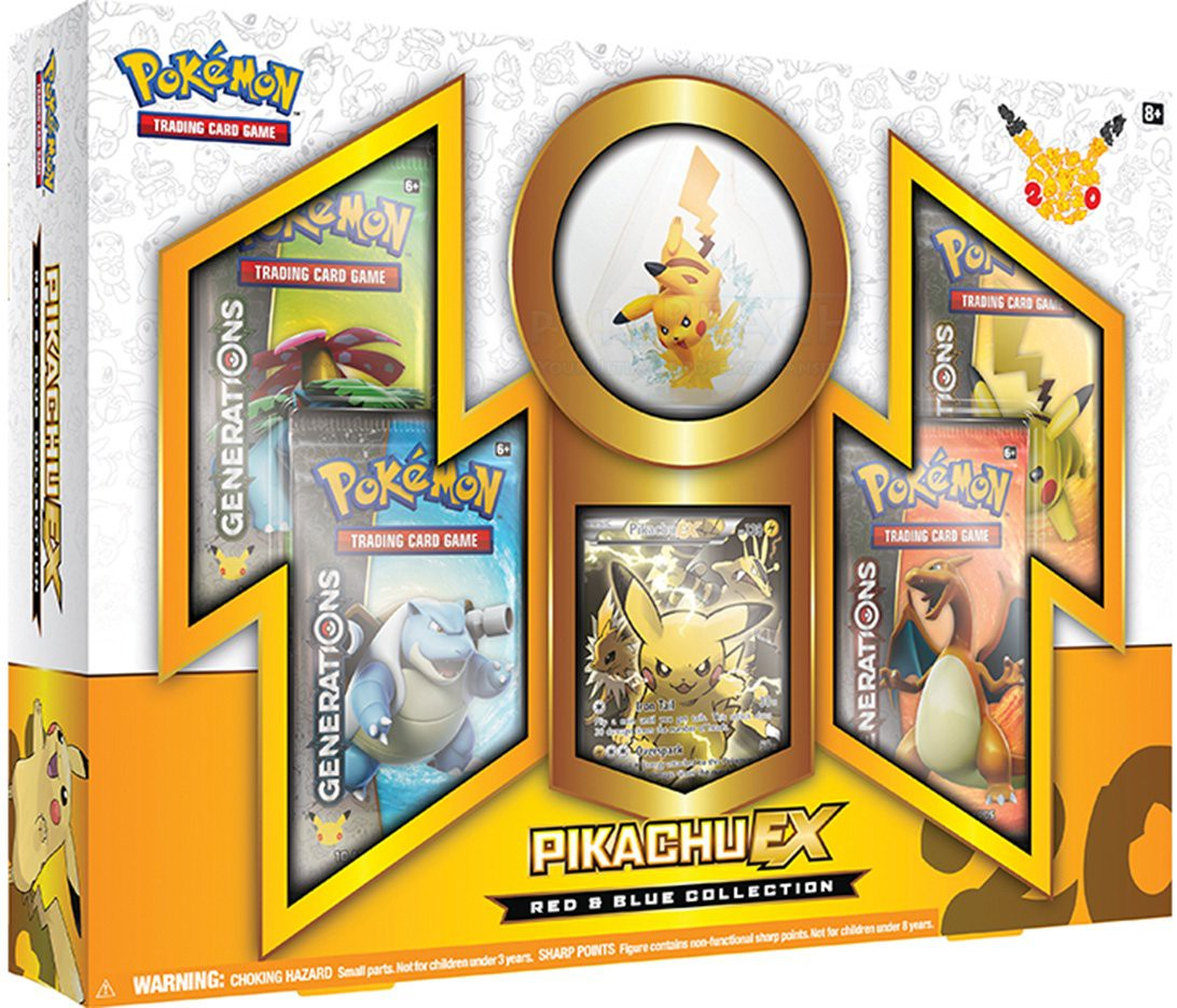 Pokémon 20th Anniversary Pikachu Box