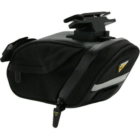 Topeak Seat Pack (Topeak Aero Wedge DX Seat Bag with Mount: Medium, Black )