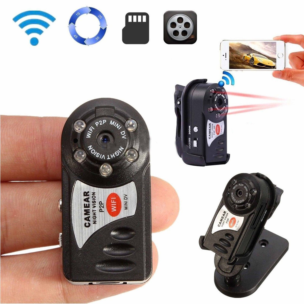 Zimtown Mini P2P WiFi DV Hidden Spy Security Nanny Car Home IP Camera Video Recorder Cam