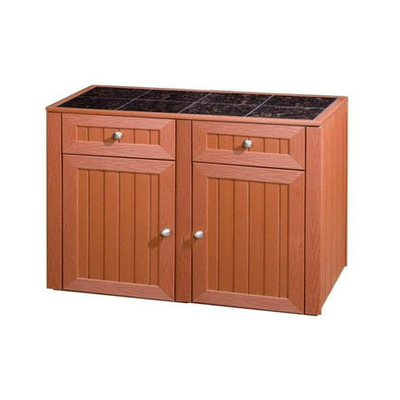 2 drawer 2 door storage kitchen cabinet deep red for 30 deep kitchen cabinets