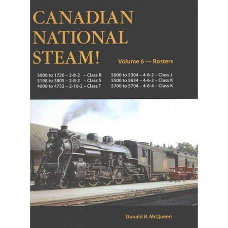 Canadian National Steam   Rosters  Mikado  Sante Fe  Pacific And Hudson Types