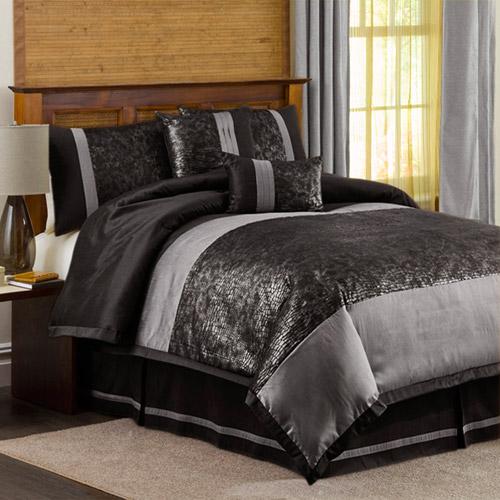 Lush Decor Metallic Animal 6 pc. Comforter Set