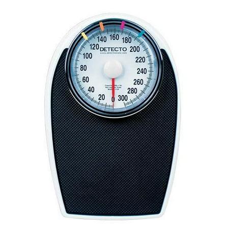 D1130 Large Dial Bathroom Scale 300 Lb Capacity Heavy