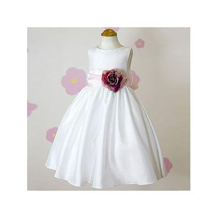 Kids dream little girls white flower special occasion dress 2 kids dream little girls white flower special occasion dress 2 walmart mightylinksfo