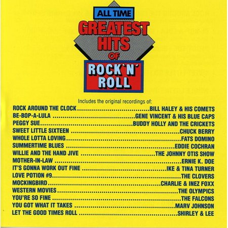 All Time Greatest Rock N Roll / Various (CD) (Vh1 100 Greatest Artists Of All Time 2011)