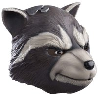 Mens Guardians Of The Galaxy Vol. 2 Rocket Full Latex Mask Costume Accessory