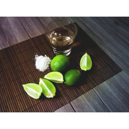 Canvas Print Beverage Drink Tequila Bar Stretched Canvas 10 x