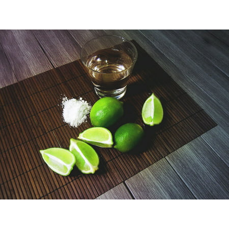 Canvas Print Beverage Drink Tequila Bar Stretched Canvas 10 x (10 Best Tequila Brands)