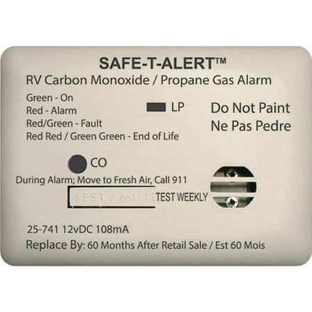 MTI Industries 12V 25 Series Safe-T-Alert Mini RV Dual Carbon Monoxide/Propane Alarm ()