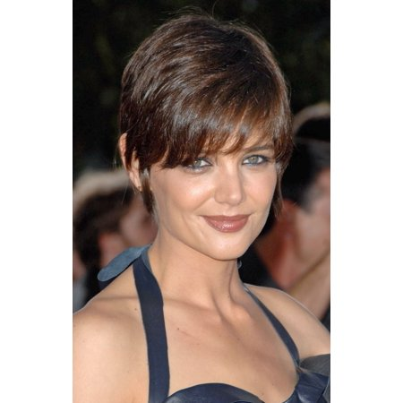 Katie Holmes At Arrivals For Los Angeles Premiere Of Tropic Thunder Rolled Canvas Art     8 X 10