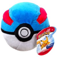 Pokemon Pokeball Great Ball Plush