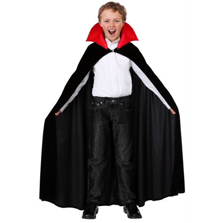 Red Collar Vampire Cloak for a Child (Vampire Toys For Kids)