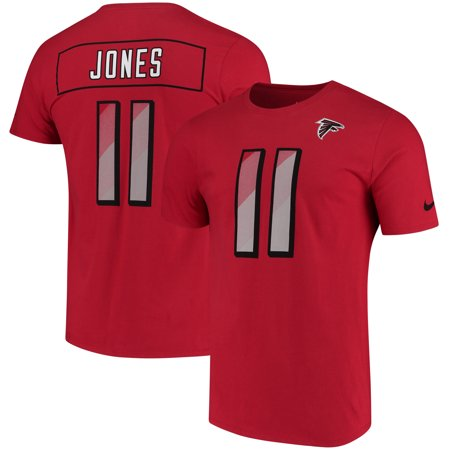 new product a9162 ab066 Julio Jones Atlanta Falcons Nike Prism Name & Number T-Shirt - Red
