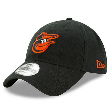 Baltimore Orioles New Era Core Classic 9TWENTY Adjustable Hat - Black - OSFA](Baltimore Ravens Hats)