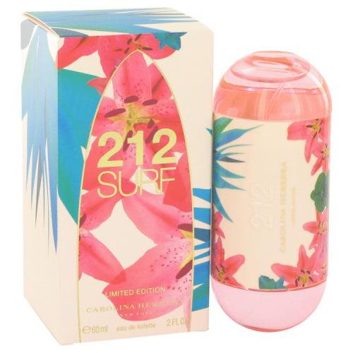 212 Surf Perfume by Carolina Herrera, 2 oz Eau De Toilette Spray (Limited Edition 2014) - image 1 de 3
