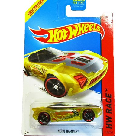 Hammer Race (Hot Wheels - 2014 HW Race 176/250 - X-Raycers - Nerve Hammer (Yellow), 1:64 scale By Mattel )