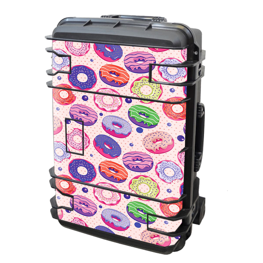 Skin Decal Vinyl Wrap for Seahorse SE-920 Case Skins Stickers Cover / Yummy Donuts Doughnuts Pink