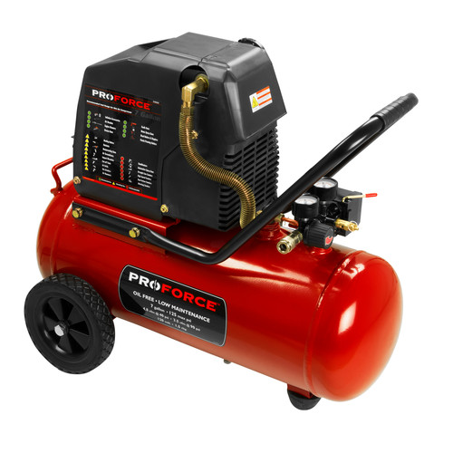 ProForce VPF1580719 7-Gallon Oil Free Portable Air Compressor with Kit