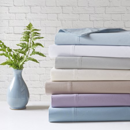 Comfort Classics Peached Percale 100 Percent Cotton Sheet Set