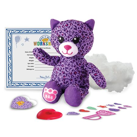 Workshop Purple Kitty Refill Pack  By Build A Bear
