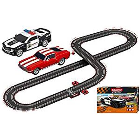 Carrera Go!!! On The Run - Slot Car Race Track Set - 1: 43 Scale - Analog