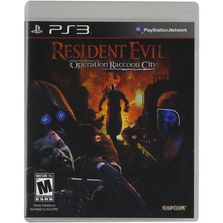 Resident Evil: Operation Raccoon City - Playstation
