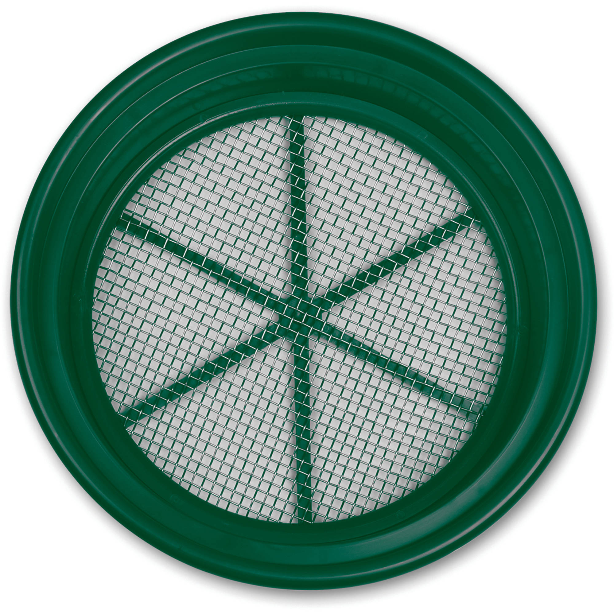 "Classifier Sifter Pan, 1/4"" Stainless Mesh"