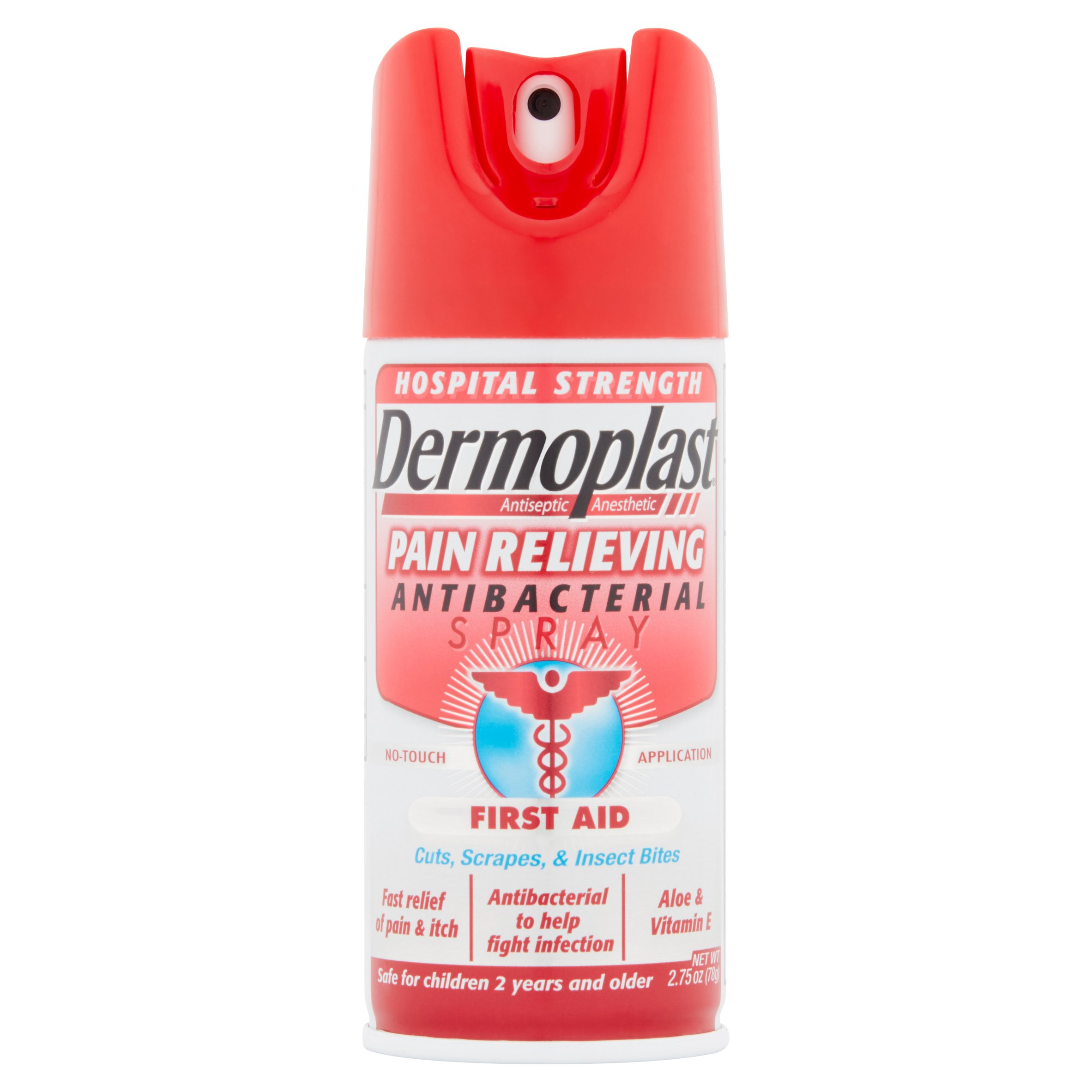 Dermoplast Anesthetic Pain Relieving Antibacterial Spray First Aid by Medtech Products Inc.