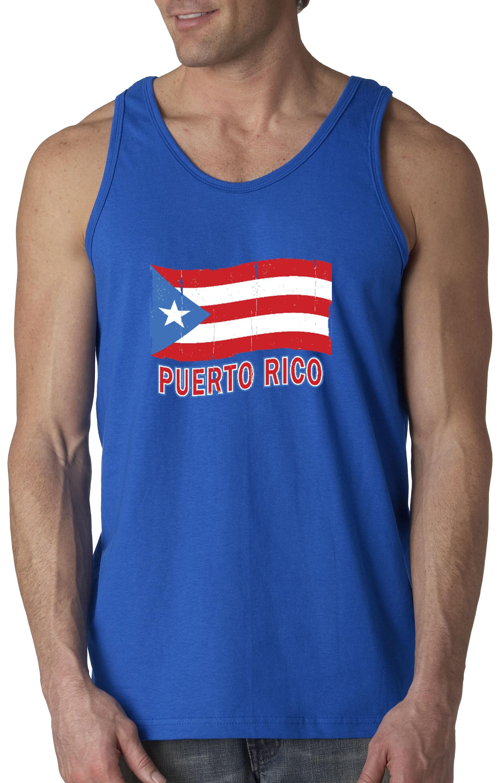 CHILDRENS PUERTO RICO FLAG TANK TOP UNISEX