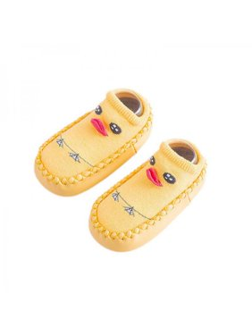 Lavaport Baby Boys Girls Cute Soft Sole Non-Skid Indoor Shoes Socks/Slippers