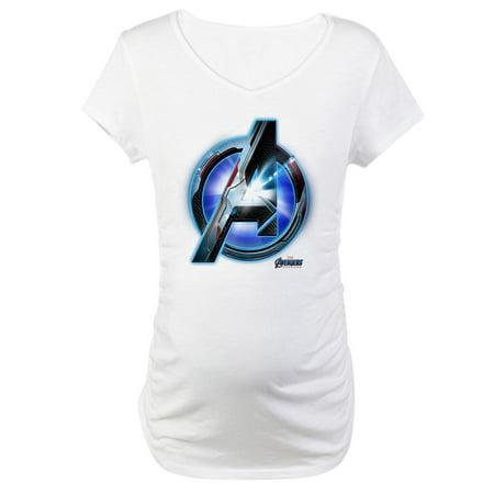 1e5ec0cb66fc6 CafePress - CafePress - Avengers Endgame Logo Maternity T Shirt - Cotton Maternity  T-shirt, Cute & Funny Pregnancy Tee - Walmart.com