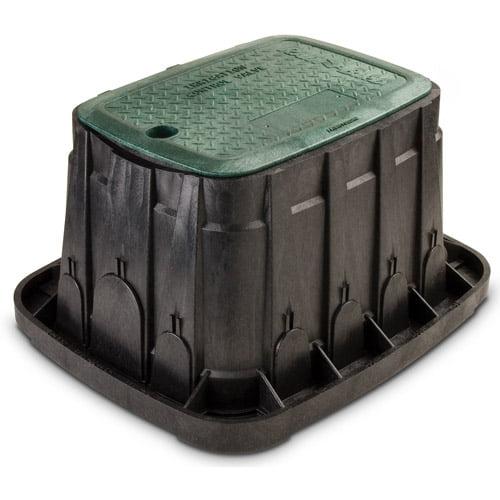 Rainbird VBREC12 12 in Green Rectangle Valve Box With Lid