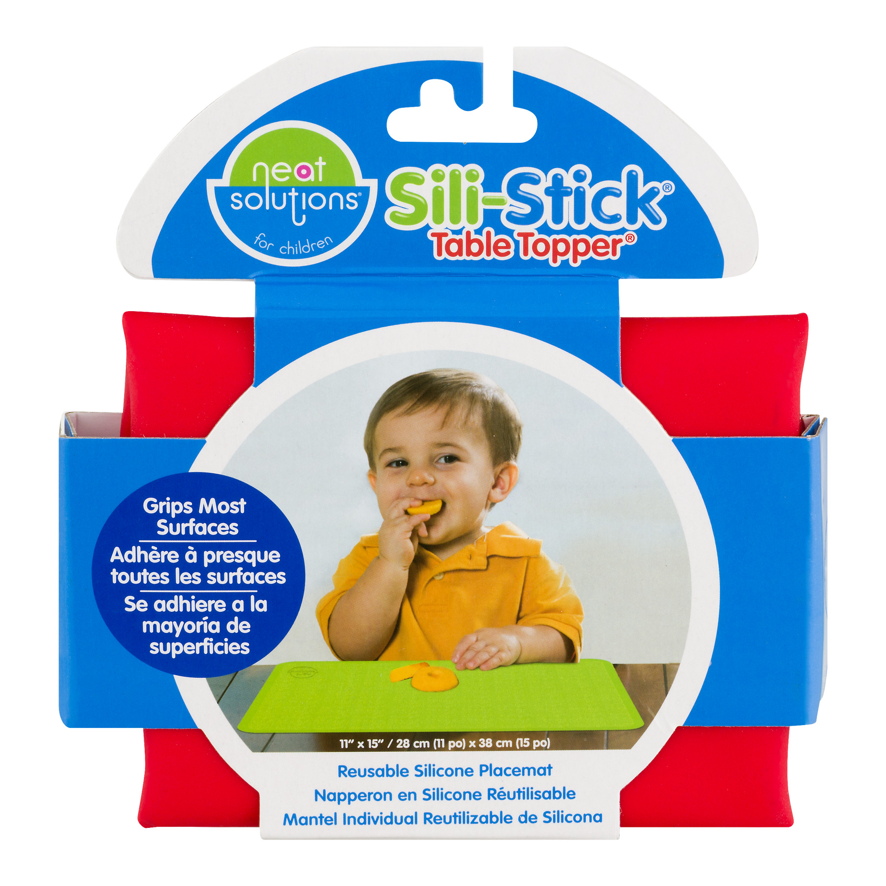 Neat Solutions Sili-Stick Table Topper, 1.0 CT