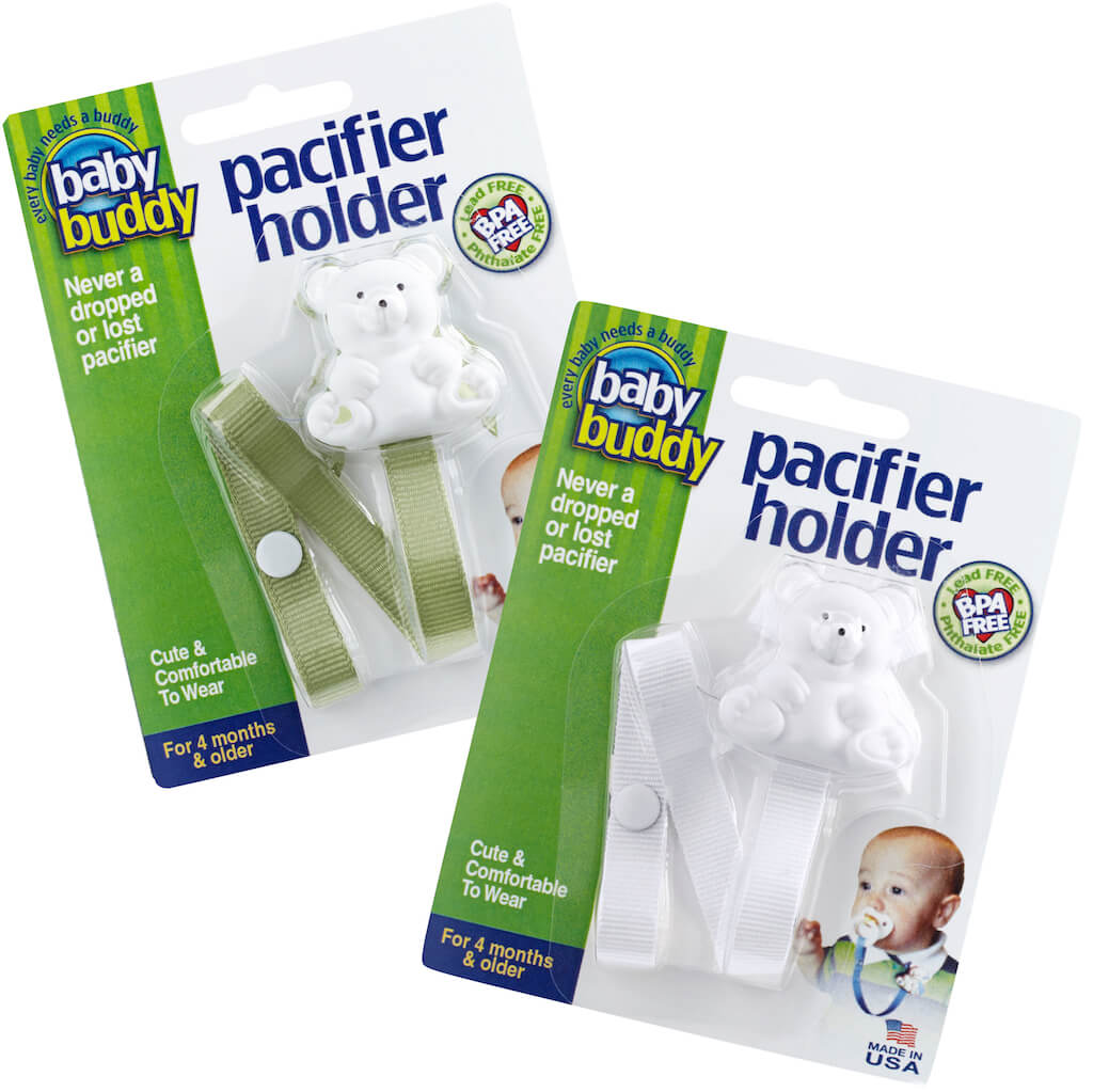 Baby Buddy Bear Pacifier Holder