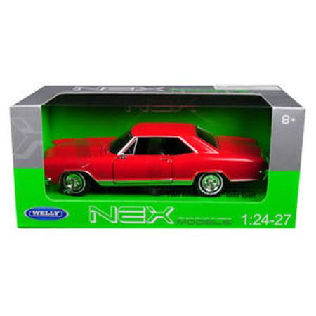 WELLY 1:24 WINDOW BOX 1965 BUICK RIVIERA GRAN SPORT RED -